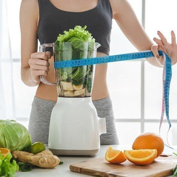 Orangen-Bananen-Smoothie zur Gewichtsreduktion